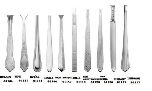 Cutlery handle designs
