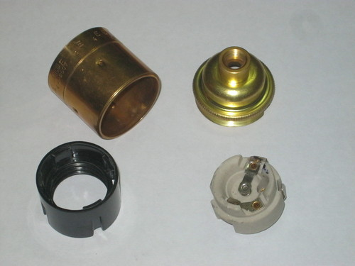 Brass Edison Screw