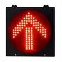 Red Arrow Traffic Signal