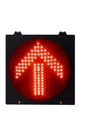 Red Arrow Traffic Signal