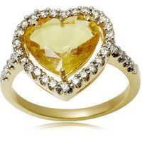 Cheap Yellow Sapphire Rings Online