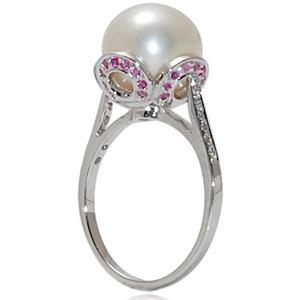 Unique Pearl Engagement Rings Design