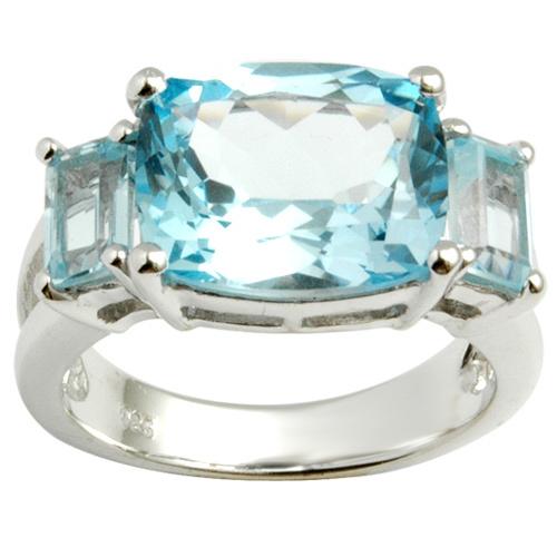 Big gemstone Sterling silver ring casting items