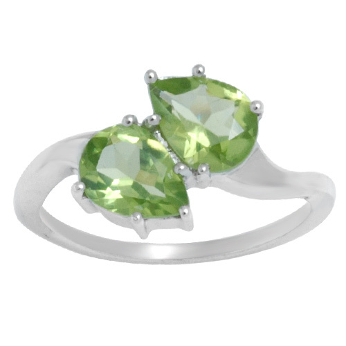 Cheap Natural Peridot Rings
