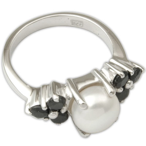 Black Onyx Sterling Silver Ring Supplier