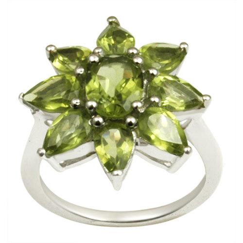 design peridot silver ring daily wear peridot ring