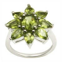 design peridot silver ring daily wear peridot ring