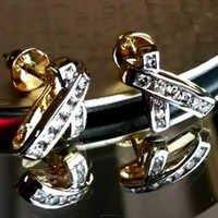 light weight gold earring chanel earrings