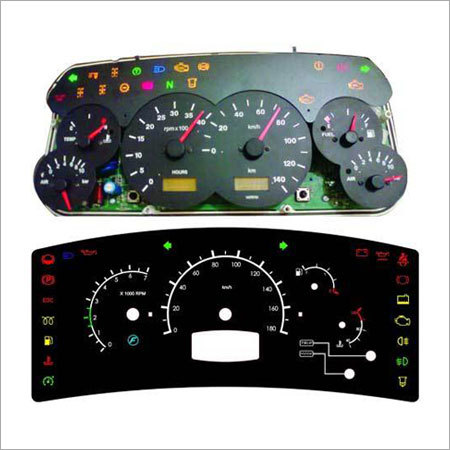 Four Wheelers Cluster Dials