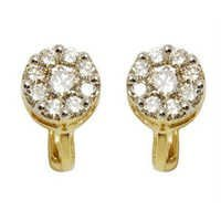 light weight gold earring pressure earrings daily wear earrings