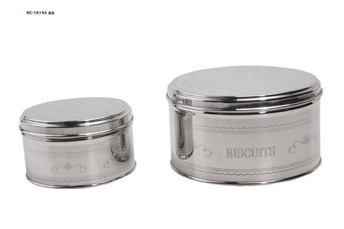 Stainless steel Cookies Box