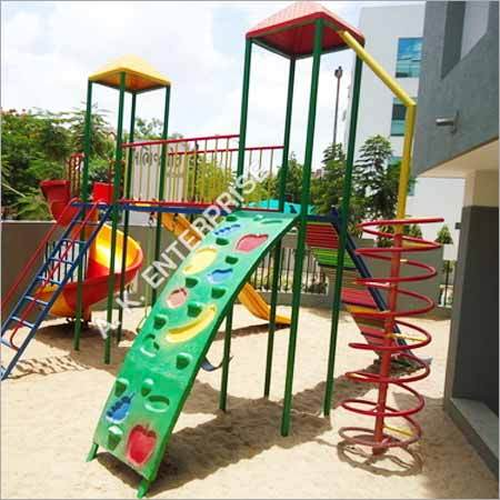 Kids Backyard Roller Slide
