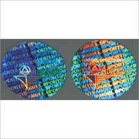 Self Adhesive Hologram Stickers