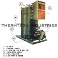 Oil And Gas Fired Vertical Thermic Fluid Heater