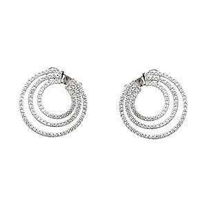 wholesale plain fashion hoop earrings in bulk from manufacturer