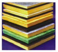 Glass wool Resin Bonded Slabs