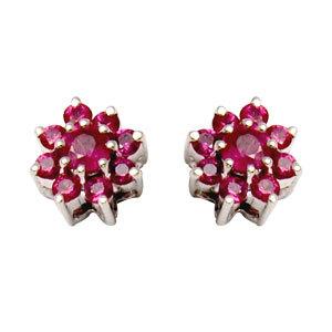 satna design ruby flower tops design