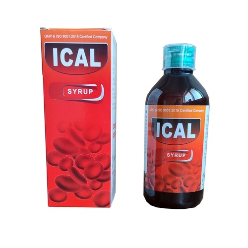 ICAL Syrup (Natural Iron-Calcium Compound)