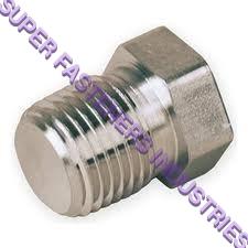SS Hollow Hex Plug