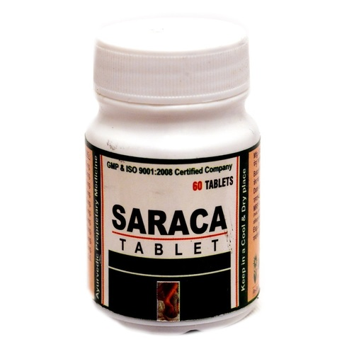SARACA Tablet (leucorrhoea and constant backache)