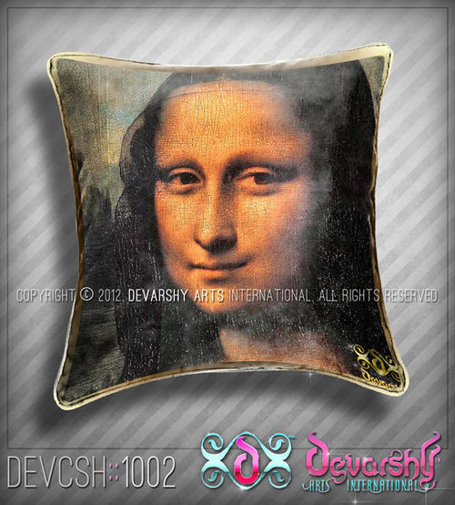 Cushion Cover Mona Lisa