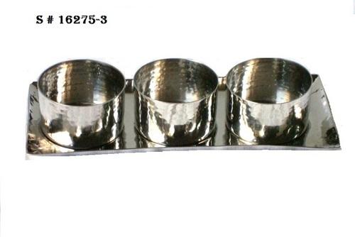 Hammered bowl set-3