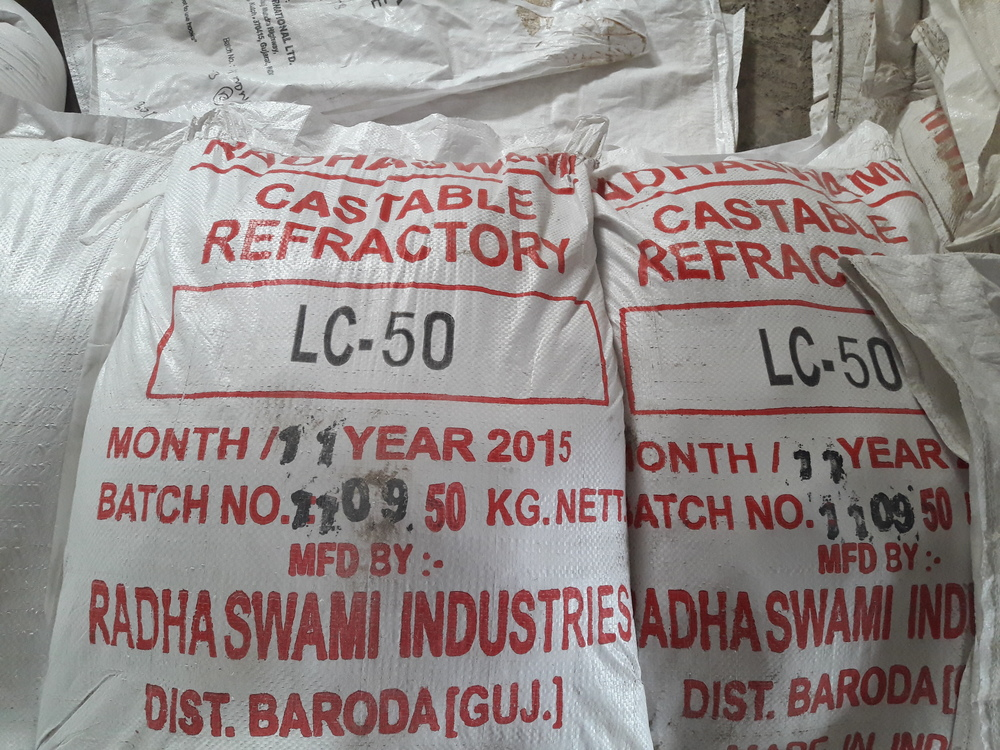 Chemical Bonded Castables