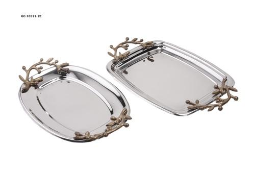 Designer handle tray