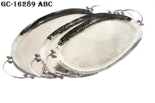 Designer trays with handle