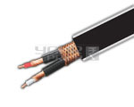 Audio Cable Two Core Individually Shield + Outer Shielding - 100 Meters