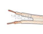 HIGH PURITY SPEAKER CABLE- SPC+OFC CONDUCTOR UL CL2 RATED 11AWG - 50 METERS