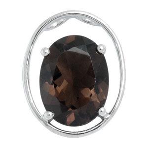 smoky pendant silver smokey pendant simple pendant design