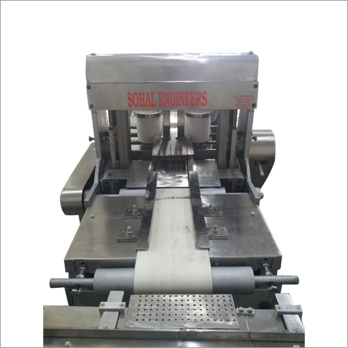 Single Small Cake Slicing Machine