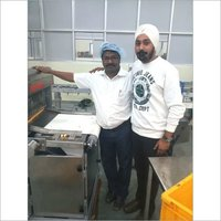 High Speed Big Bar Cake Slicing Machine
