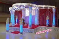 Stylish Wedding Crystal Mandap