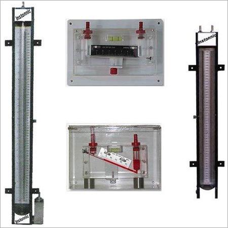 Manometers Single limb /U tube /Inclined tube