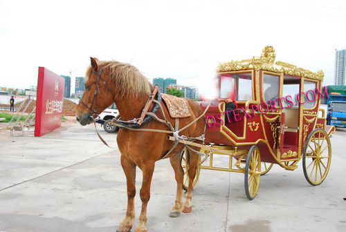 Royal Horse Drawn Cart