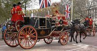 Royal Golden Horse Carriages