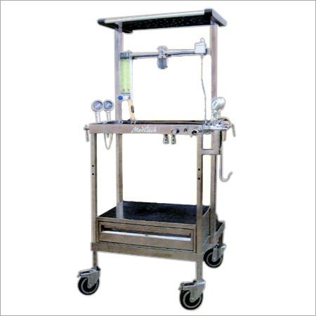 Stainless Steel Basic Anaesthesia Machine