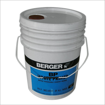 20 Ltr. Plastic Bucket (With Tinting Cap)