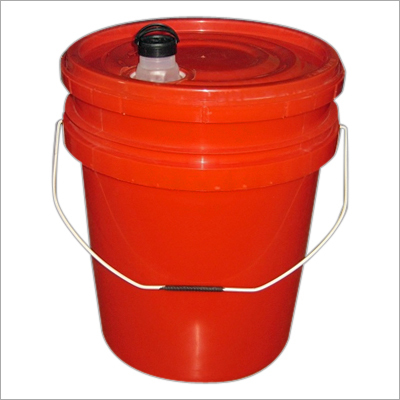 20 Ltr. Plastic Bucket( Spout for Lubricating Oil)