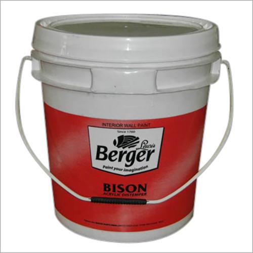 10 Lt. Plastic Bucket for Distemper