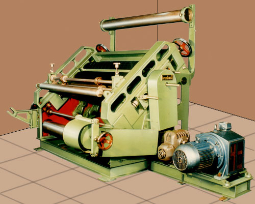 Single Face Paper Corrugating Machine Manufacturer