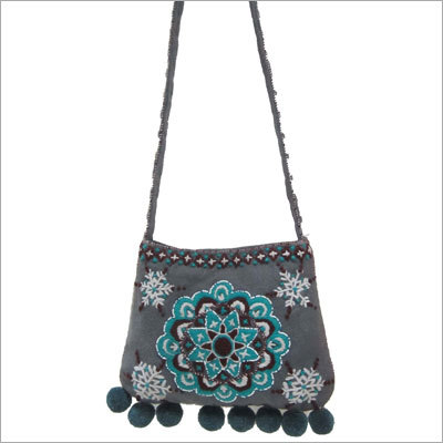 Woolen Embroidery Bag
