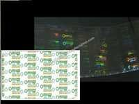 PVC Card Printer Hologram Overlay