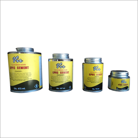 Quality Solvent Cement