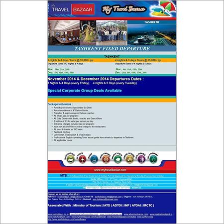 Tashkent Tours Packages