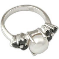manufacturer pearl rings online designer pear ring