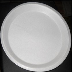 "12"" Round Plain Disposable Plate"