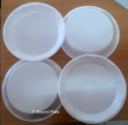 "Disposable 7"" Round Plate"